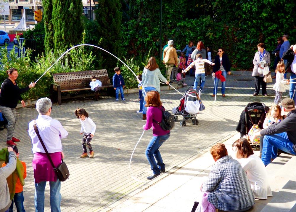 Encuentro Intergeneracional de Juegos Tradicionales. Museo de Huelva, enero 2016
