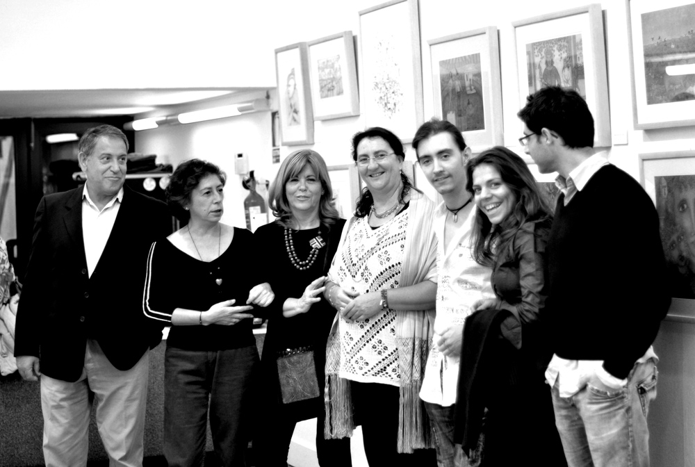 Exposición Sala Plus Ultra, Cajasol - Huelva. Noviembre, 2010. (2)