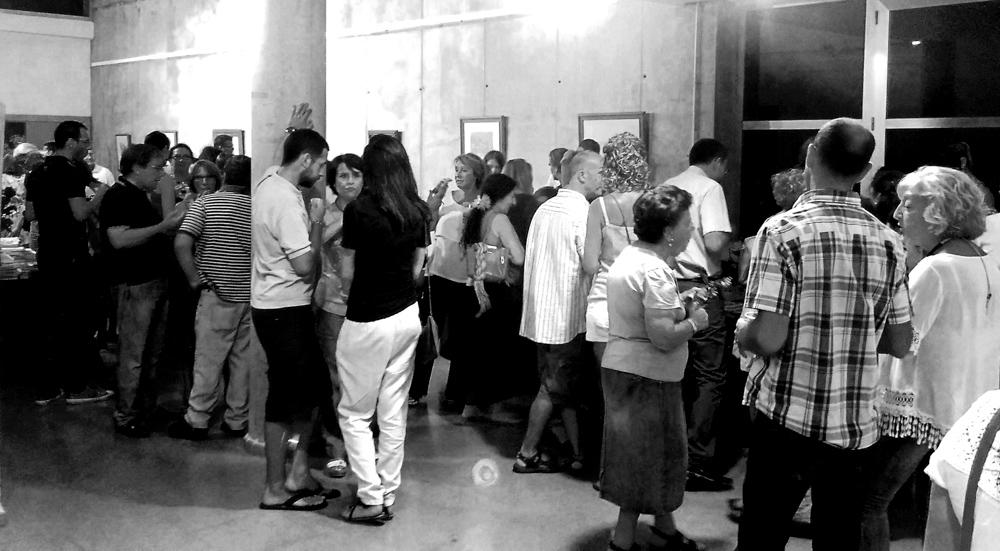 Inauguración Exposición - Desde dentro hacia fuera. Punta Umbría, agosto 2015. (2)