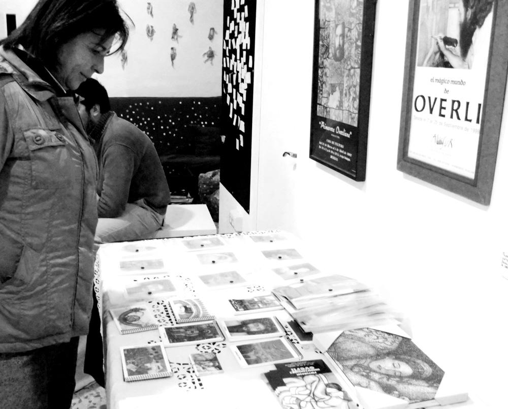 Overli en nuestra memoria - exposición y homenaje. Espacio PLOCC. Febrero, 2013
