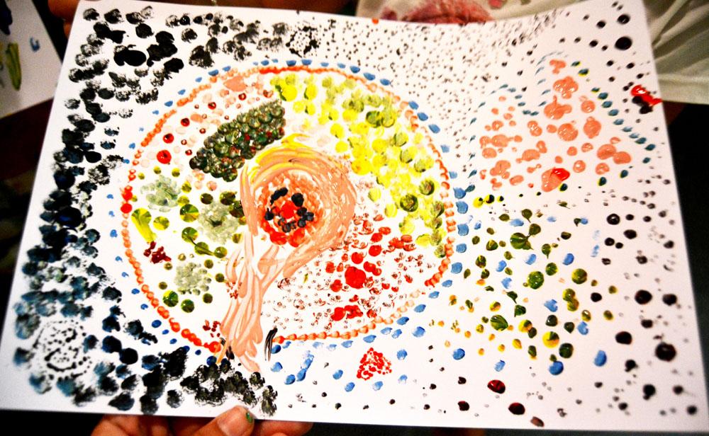 Taller infantil - Overli el mago cósmico. Punta Umbría, agosto 2015. (8)